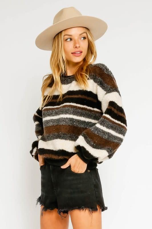 Olivaceous Landslide Sweater