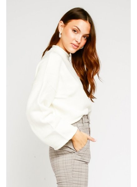 Olivaceous Always & Forever Sweater