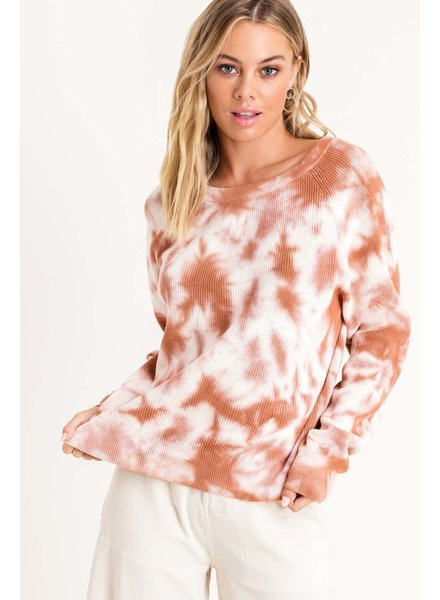 Twist In Time Pullover
