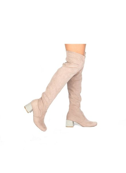 Qupid Zaya OTK Boots