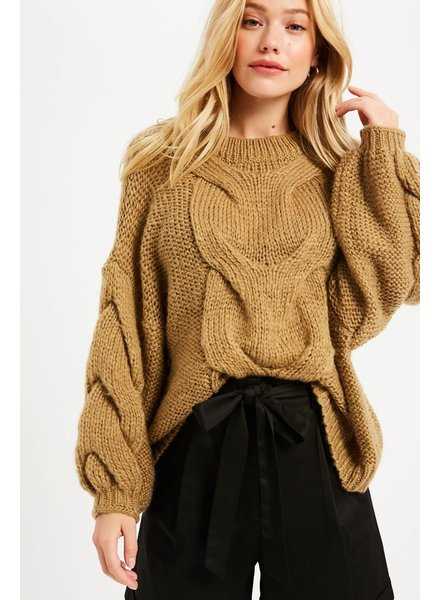 Wishlist Toffee Time Sweater