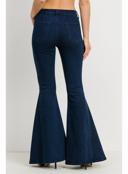 Just Black Jeans Ace Bell Bottoms