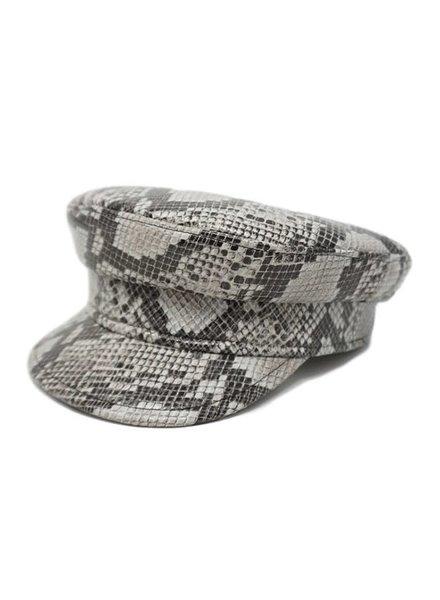 Olive & Pique Riza Captain Hat