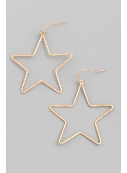 Fame Babely Star Earrings