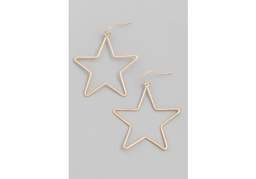 Fame Babely Star Earrings