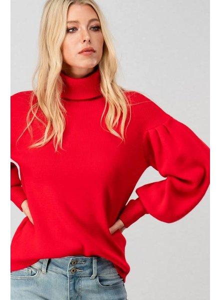 Trend: Notes Bishop Sleeve Sweater
