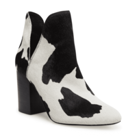Rookie Cow Print Bootie