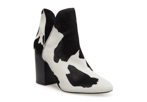 Steve Madden Rookie Cow Print Bootie