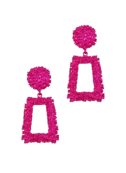 I.CCO Accessories Pink Power Earrings