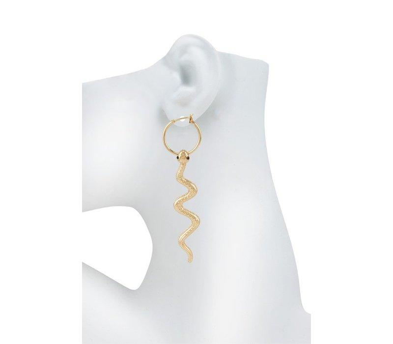 Nirvana Snake Earrings