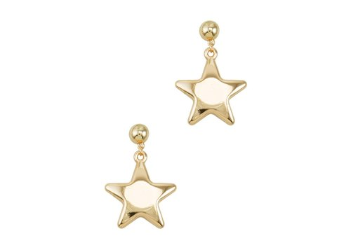 I.CCO Accessories Puff Star Earring
