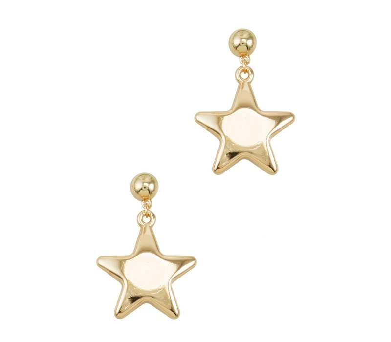 Puff Star Earring