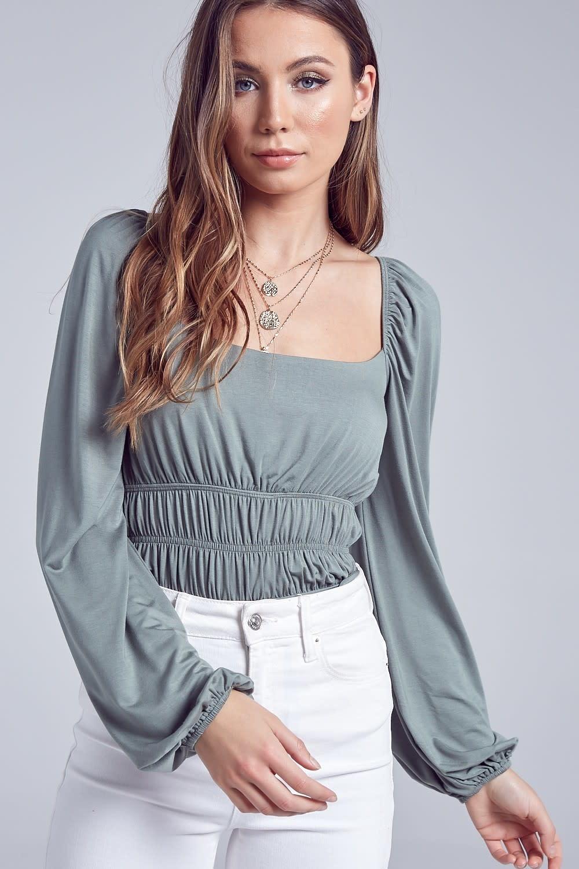 Blue Blush Laurie Bodysuit