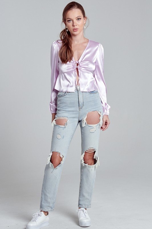 Blue Blush Daydreaming Top