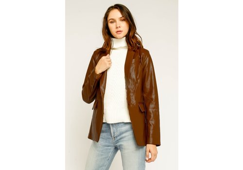 Olivaceous It's Leather Enough