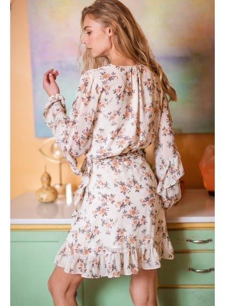 Aakaa Nothing Bud Flowers Dress