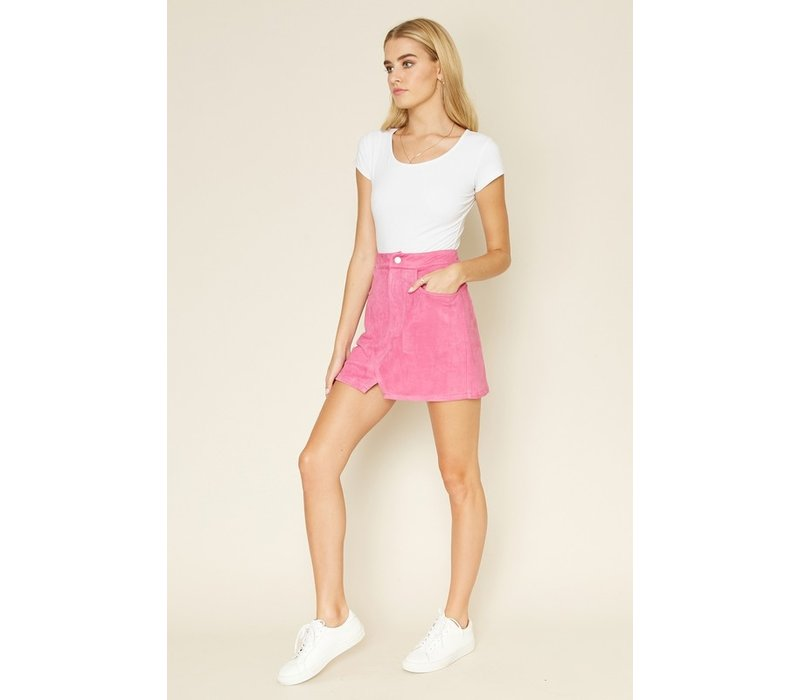 Suede Your Way Skirt