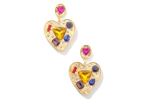 Anarchy Street Heart To Hear Earrings