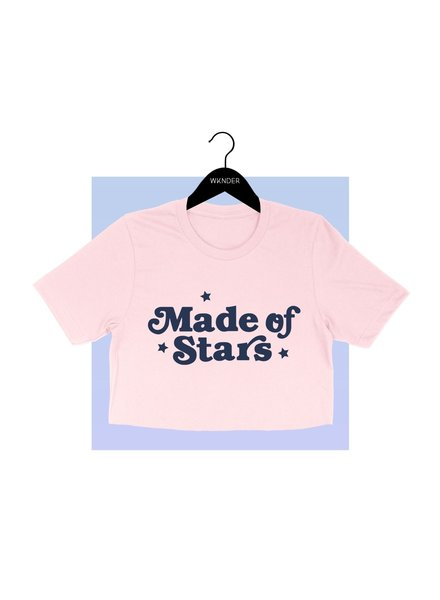 WKNDER Made Of Stars Crop Top
