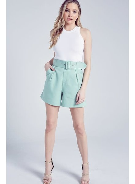 Blue Blush Lucky Lady Shorts
