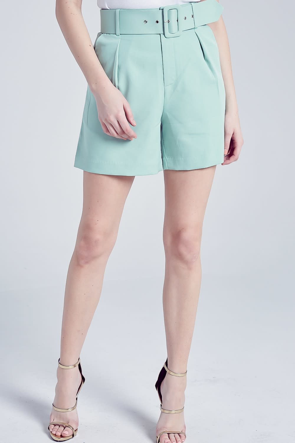 Blue Blush Lucky Lady Shorts