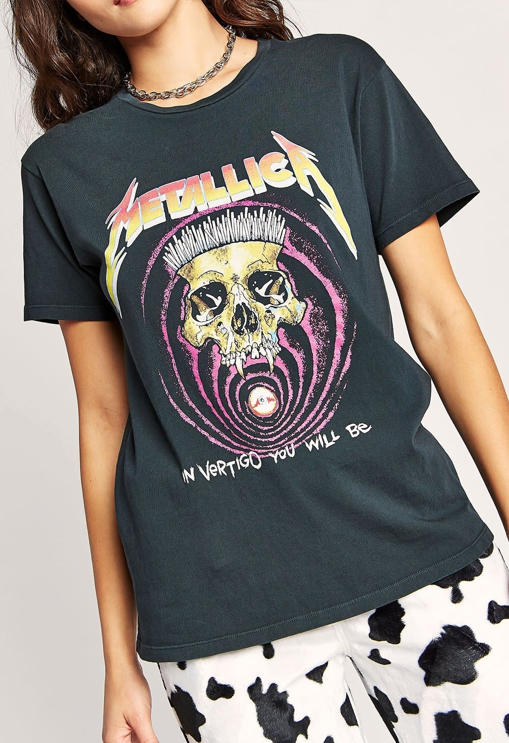 Daydreamer LA Metallica in Vertigo Tee