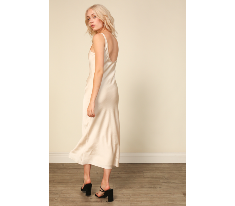 Charlize Satin Dress