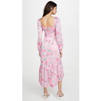 Flirt Belted Bustier Dress