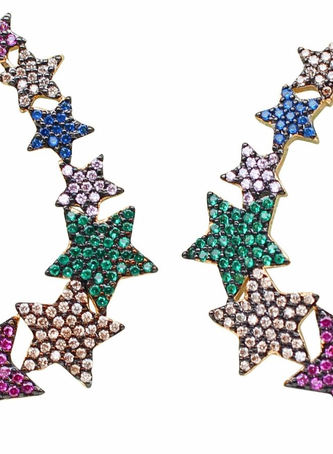 Jewel Star Earrings
