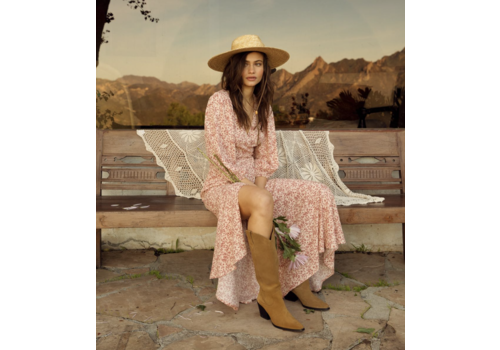 Cotton Candy La Woodrose Maxi Dress