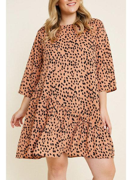 Hayden Los Angeles Animal Style Dress (Plus)