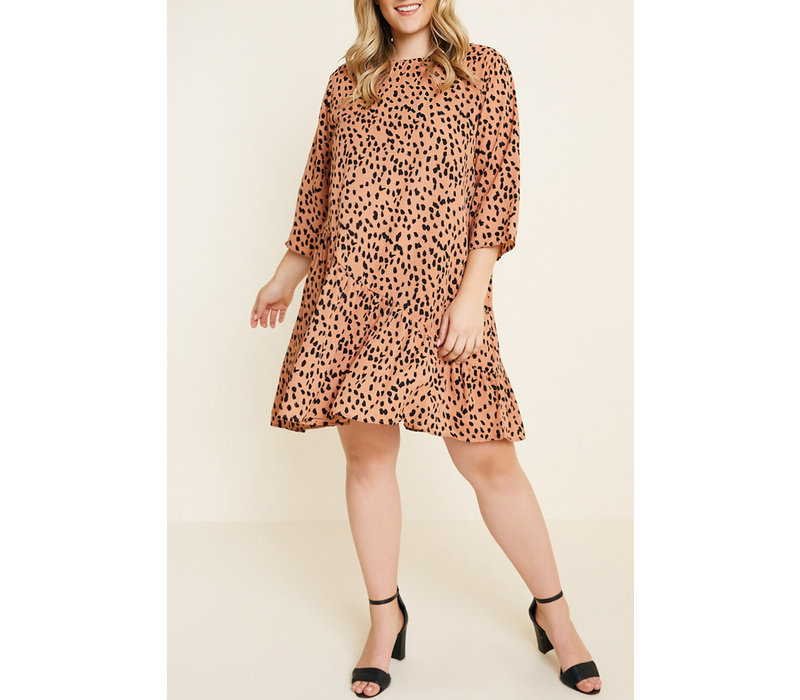 Animal Style Dress (Plus)