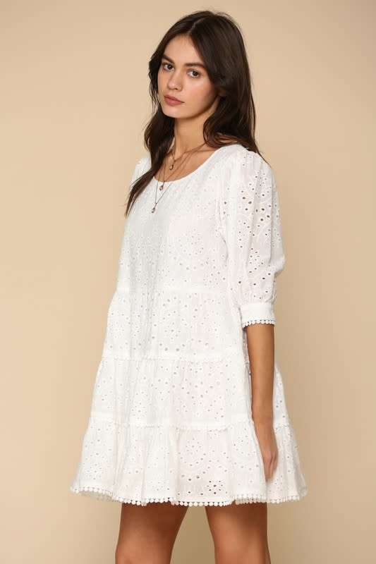 By Together Only Have Eyelets For You Dress