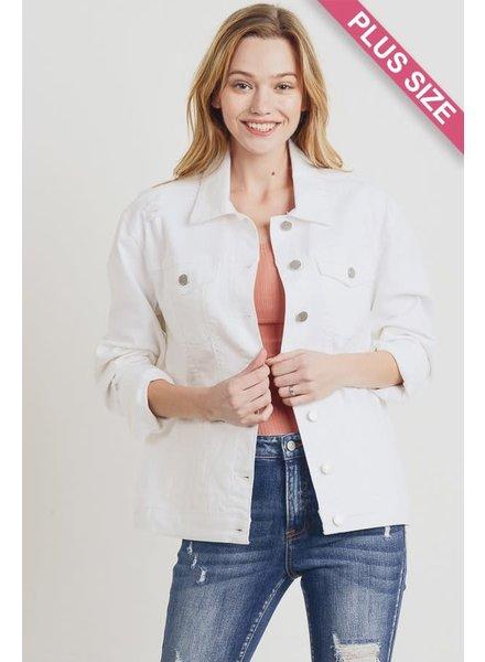 C'est Toi Pearly Whites Jacket (Plus)