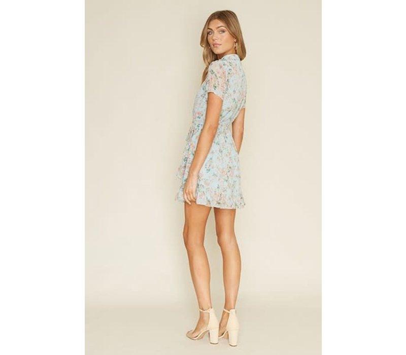 Say High Neck Mini Dress