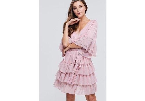 Velzera Can't Ruffle Me Dress (Plus)