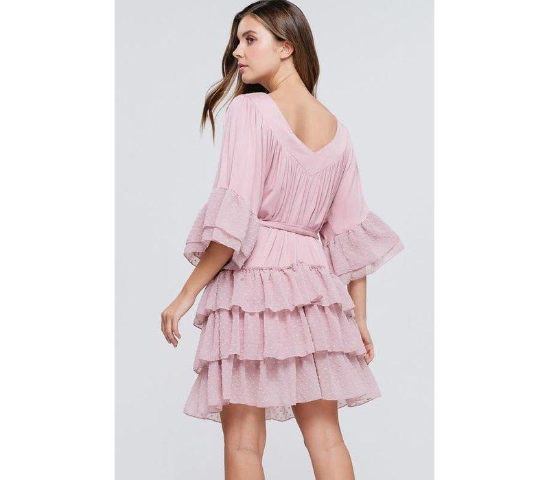 Can't Ruffle Me Dress (Plus)