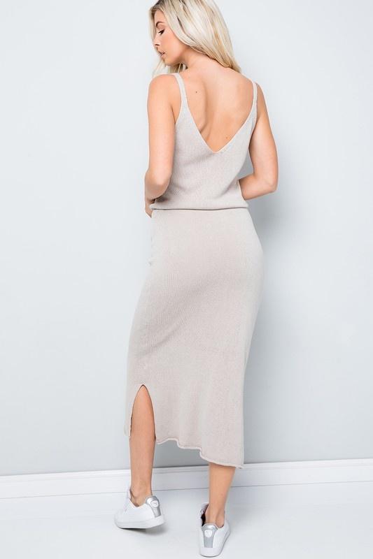 Skims Lounge Midi Dress