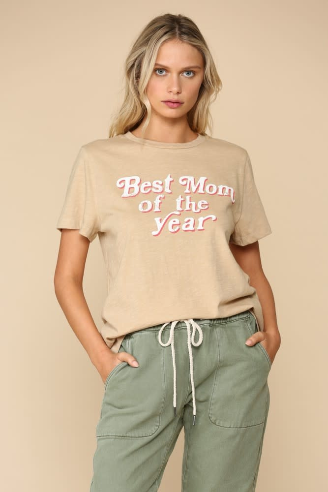 Best Mom Of The Year Tee