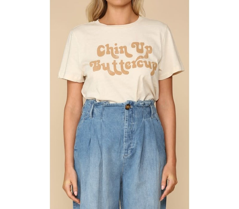 Chin Up Buttercup Tee