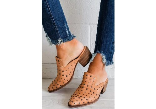 A Rider GIrl Cara Studded Mule