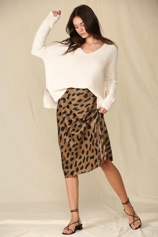 Here Kitty Midi Skirt