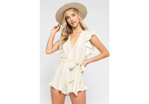Olivaceous Ray Of Sunshine Romper