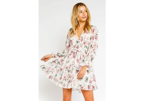 Olivaceous Steal The Grow Dress