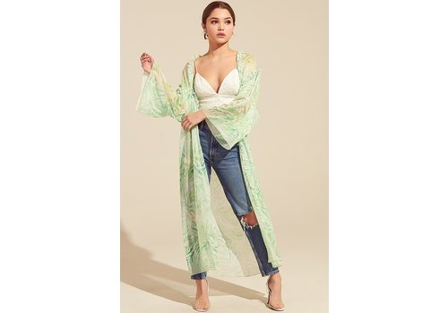 Blue Blush Real Housewives Kimono