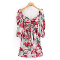 Spring Into Action Dress