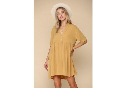 By Together Golden Honey Dress