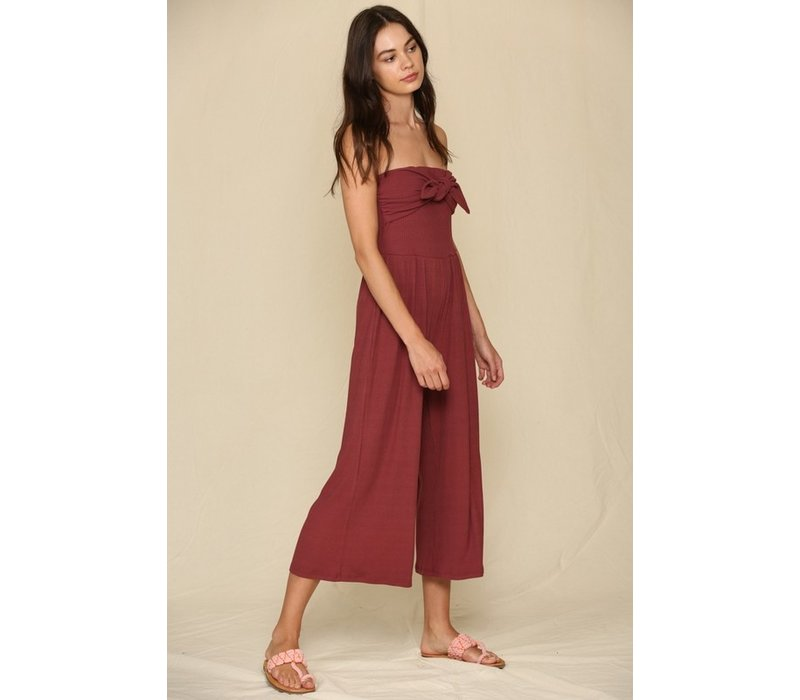 Lulu Strapless Jumpsuit
