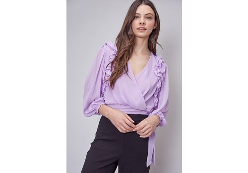 Do + Be Ellie Ruffle Blouse