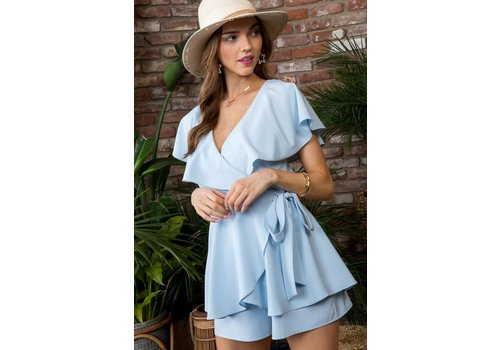Main Strip No Blues Here Romper